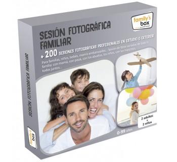 Sesión fotográfica familiar