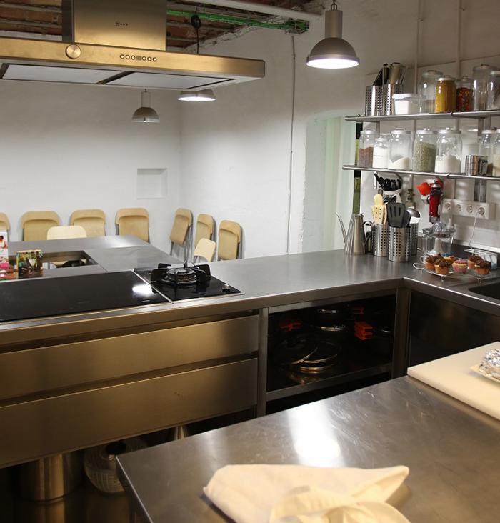 Taller de cocina barcelona for Taller de cocina teruel