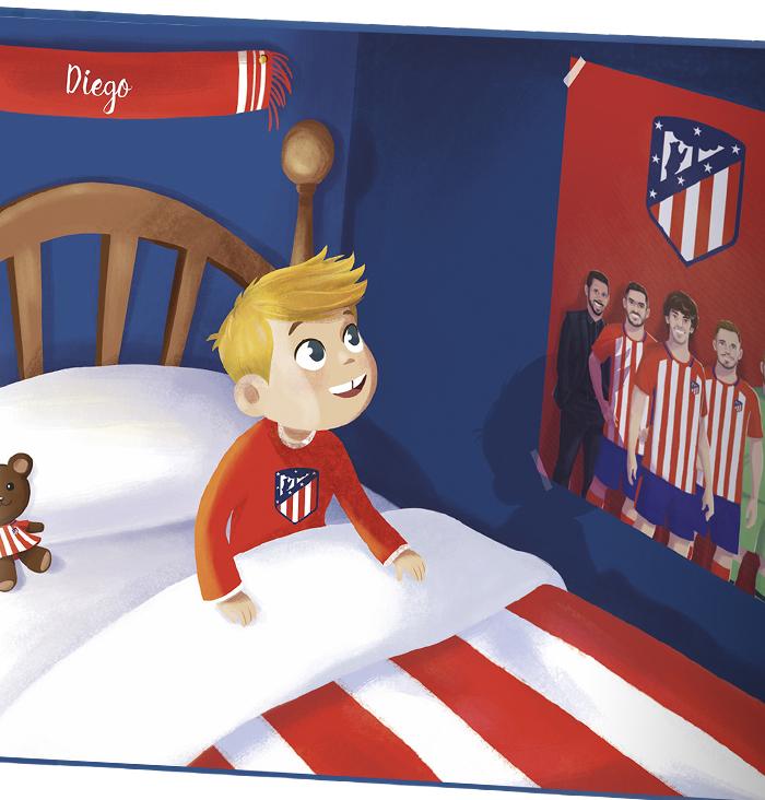 Kit Atletico De Madrid Baby