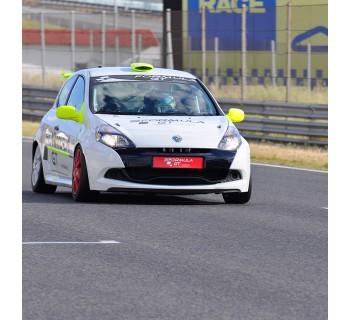 Copilotaje extremo para niñ@s en un Renault Clio Cup (Navarra)