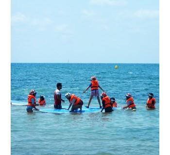 Pequeños navegantes: escuela de verano para dos