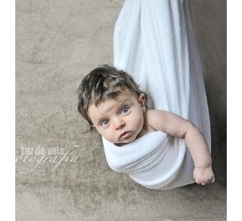 Mini sesión fotográfica en exteriores para bebés (Huesca)