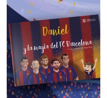 """""""La magia del FC Barcelona"""", el primer libro personalizado del FCBARCELONA  (Castellón)"""