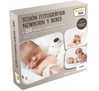 Sesión fotográfica Newborn y bebés