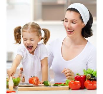 Cumplea os con taller de cocina saludable sevilla for Cumpleanos cocina para ninos