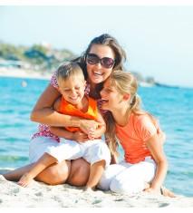 Descubriendo playas salvajes en familia