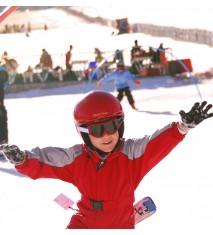 Clase particular de esquí para dos