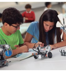 Clase de robótica educativa (Sevilla)