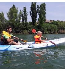 Ruta en kayak por el meandro del río Ebro