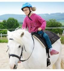 Clase de iniciación a la equitación