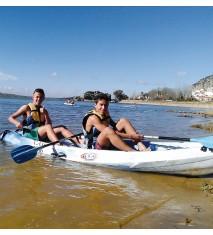 Aventura acuática en el embalse de Alange