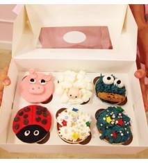 Un cumple único con taller de cupcakes y merienda