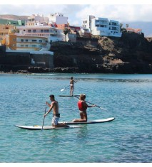 Clase de paddle surf en Canarias