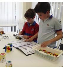 Clase de robótica educativa (Cádiz)