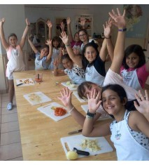 Talleres de cocina infantil