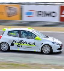 Copilotaje extremo para niñ@s en un Renault Clio Cup (Madrid)