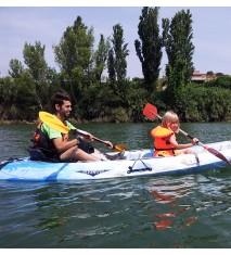 Descenso en piragua por el río Ebro