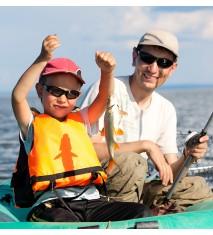 Día de pesca en lancha