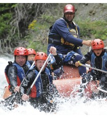 Rafting 14 km + Descenso de barranco