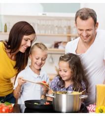 Casa Rural La Ventera   Taller de cocina en familia