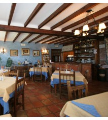 Merienda o cena en el Hotel Rural Posada El Solar