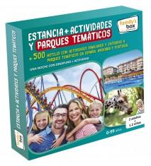 Estancia + Actividades y Parques temáticos