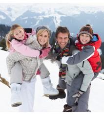 Excursión familiar con raquetas de nieve