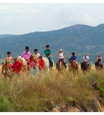 Paseo a caballo en la Sierra del Maigmó