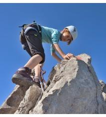 Iniciación a la escalada y rápel en familia