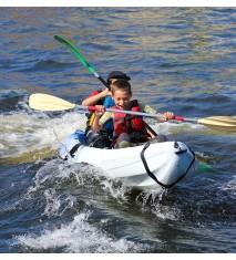 Kayak o canoa por la ría de Bilbao + Visita al pesquero Agurtza y taller marinero