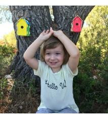 Refugio para pájaros - Kit creativo