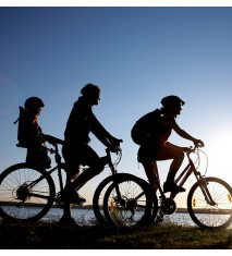 Laguna del Portil y Enebrales + Ruta guiada en bicicleta
