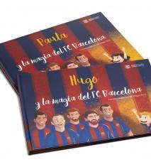 """""""La magia del FC Barcelona"""", el primer libro personalizado del FCBARCELONA  (Guipúzcoa)"""