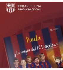 """""""La magia del FC Barcelona"""", el primer libro personalizado del FCBARCELONA  (Palencia)"""