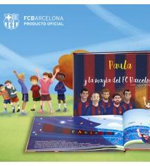"""""""La magia del FC Barcelona"""", el primer libro personalizado del FCBARCELONA  (La Coruña)"""