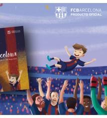 """""""La magia del FC Barcelona"""", el primer libro personalizado del FCBARCELONA  (Teruel)"""