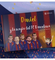 """""""La magia del FC Barcelona"""", el primer libro personalizado del FCBARCELONA  (Pontevedra)"""