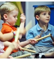 Kindermusik: música y movimiento en inglés