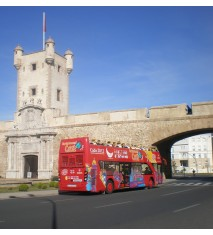 Paseo en bus turístico por Cádiz