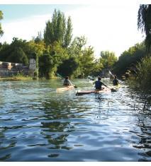 Paseo familiar en kayak por los jardines de Aranjuez