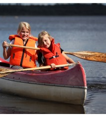Paseo en piragua, canoa o barca