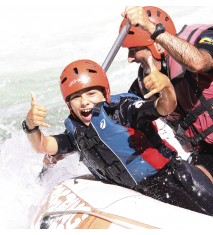 Rafting 5 km + Barranco acuático