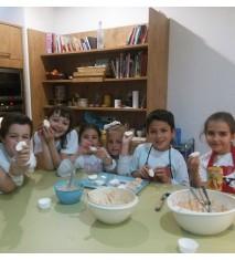 Campamento de cocina junior