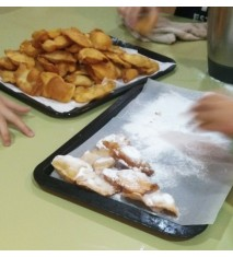 Campamento de cocina infantil
